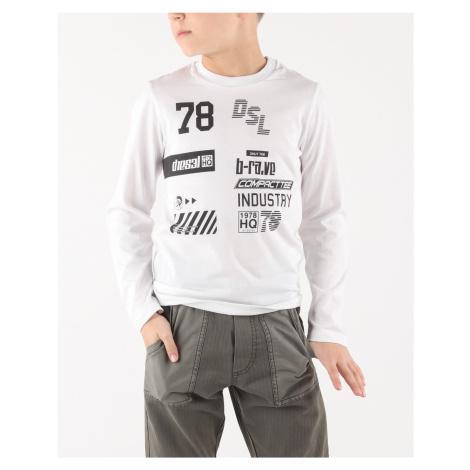 Diesel Tiago Koszulka dziecięce Biały