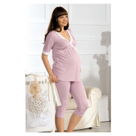 Piżama ciążowa i do karmienia Beatrice Babella