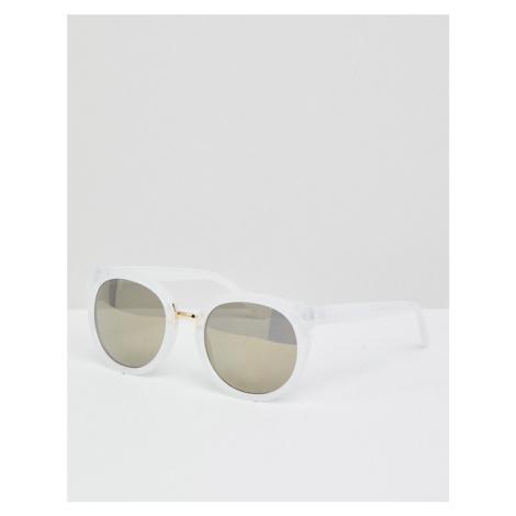 AJ Morgan round sunglasses in white