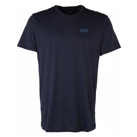 JACK WOLFSKIN Koszulka 'ESSENTIAL' niebieska noc