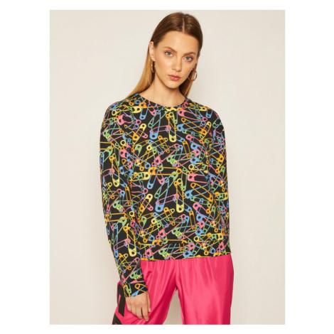MOSCHINO Underwear & Swim Bluza 17 309 014 Czarny Regular Fit