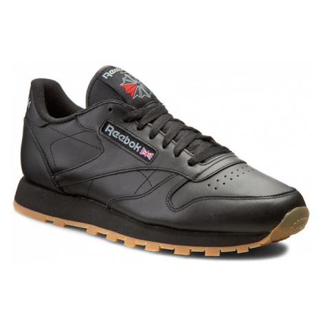 Buty Reebok - Cl Lthr 49800 Black/Gum