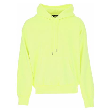 Diesel Sweter dla Mężczyzn Na Wyprzedaży, fluorescencyjny limonkowy, Bawełna, 2019