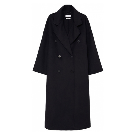 MANGO Płaszcz przejściowy czarny