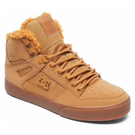 buty DC Pure High -Top WC WNT - WEW/Wheat/White