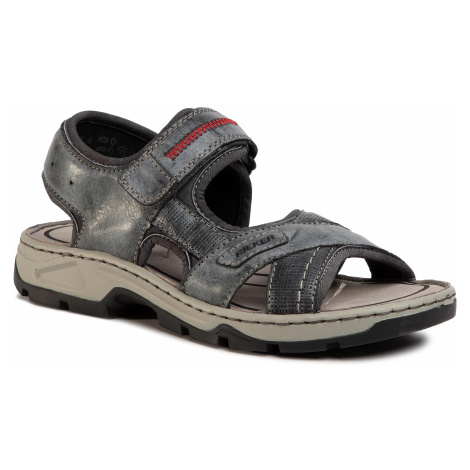 Sandały RIEKER - 26154-14 Blau