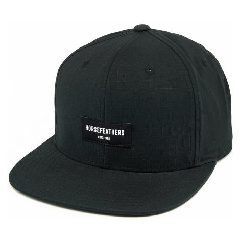 czapka z daszkiem Horsefeathers Ryder Snapback - Black