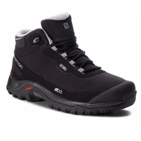 Trekkingi SALOMON - Shelter Cs Wp 404729 27 V0 Black/Black/Frost Gray