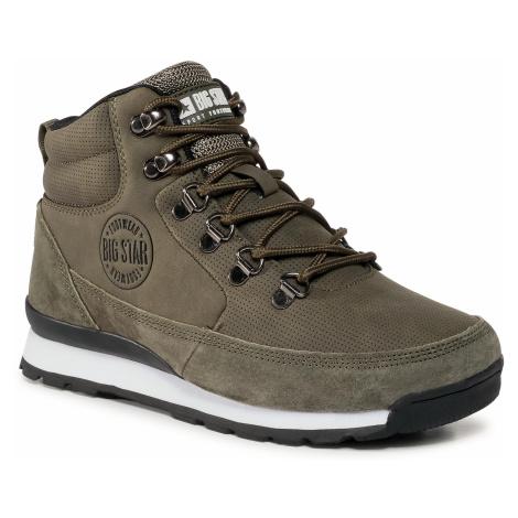 Sneakersy BIG STAR - GG274617 Khaki