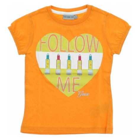 Geox Koszulka dziecięce Pomarańczowy