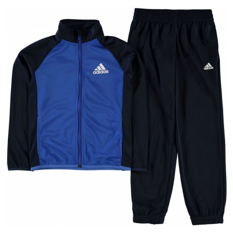 Adidas Poly Tracksuit Junior Boys