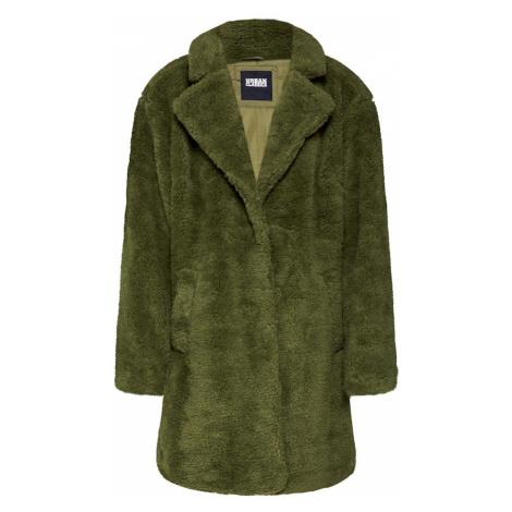 Urban Classics Płaszcz przejściowy 'Sherpa' oliwkowy