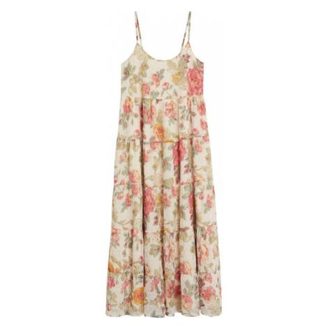 MANGO Sukienka plażowa 'Barbel' beżowy / mieszane kolory
