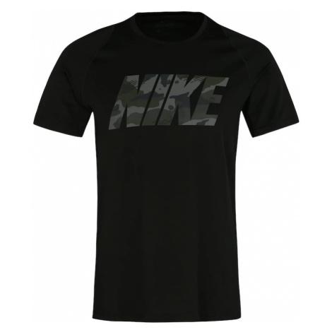 NIKE Koszulka funkcyjna szary / khaki / czarny