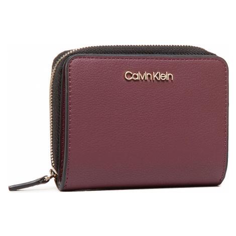 Mały Portfel Damski CALVIN KLEIN - Z/A Wallet W/Flap Md K60K607432 GDU