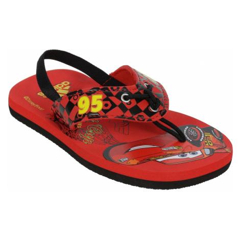 japonki adidas Originals Disney Beach I Kid's - Vivid Red/Vivid Yellow/Black