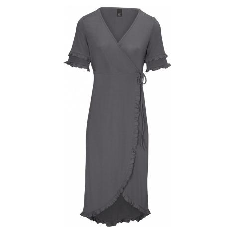 Heine Letnia sukienka nakrapiany szary