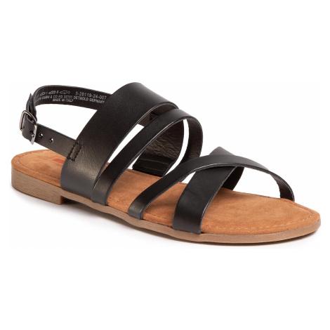 Sandały S.OLIVER - 5-28119-24 Black Uni 007
