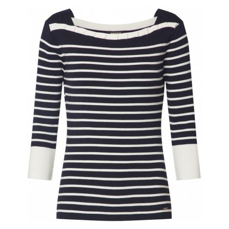 MORE & MORE Sweter biały / atramentowy