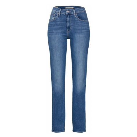 LEVI'S Jeansy '724™ HIGH RISE STRAIGHT' niebieski denim Levi´s