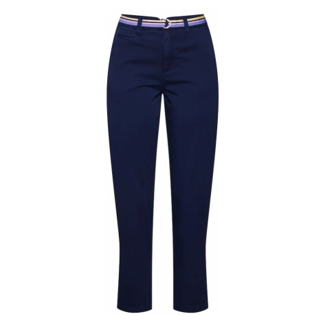 TOM TAILOR DENIM Chinosy ciemny niebieski