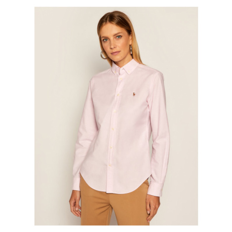 Lauren Ralph Lauren Koszula Polo Bsr 211806181001 Różowy Classic Fit