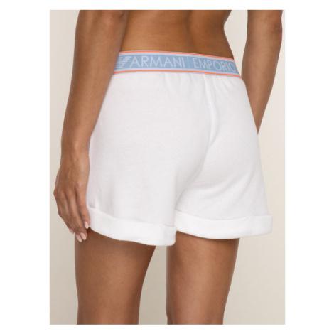 Emporio Armani Underwear Szorty materiałowe 164199 9P287 00010 Biały Regular Fit