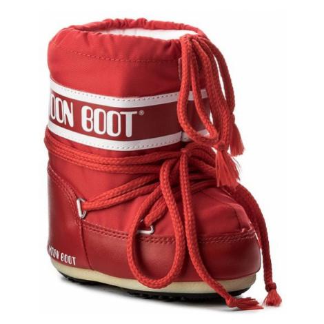 Moon Boot Śniegowce Mini Nylon 14004300003 Czerwony