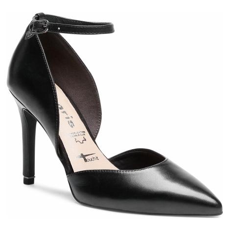 Szpilki TAMARIS - 1-24407-26 Black Leather 003