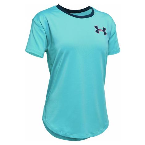 Under Armour HeatGear® Koszulka dziecięce Niebieski