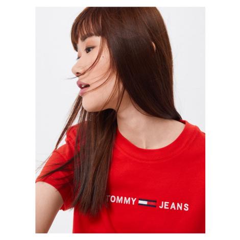 Tommy Jeans Koszulka czerwony Tommy Hilfiger