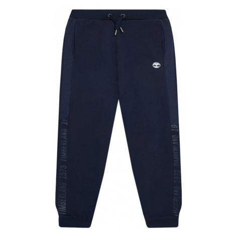Timberland Spodnie dresowe T24B24 D Granatowy Regular Fit
