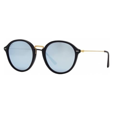 Kapten & Son Okulary przeciwsłoneczne czarny / niebieski