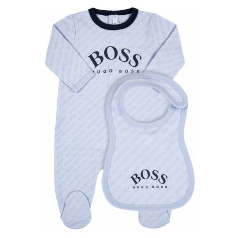 Komplet śpiochy i śliniak Boss Hugo Boss