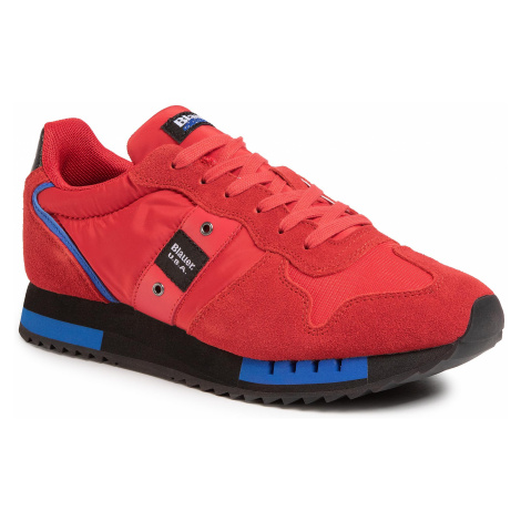 Sneakersy BLAUER - S0QUEENS01/MES Red