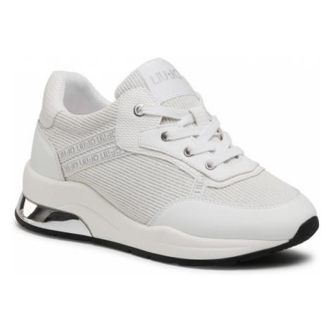 Liu Jo Sneakersy Karlie 8 4A1731 EX083 Biały