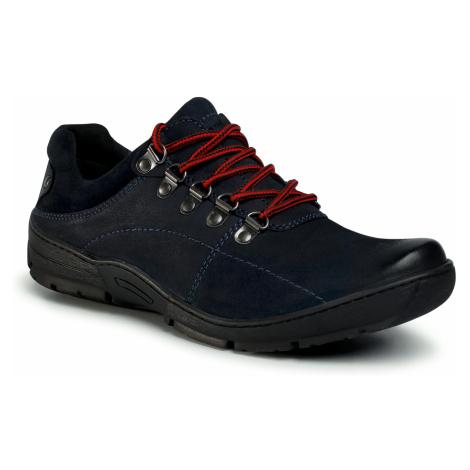 Półbuty LASOCKI FOR MEN - MI07-A603-A463-03 Cobalt Blue