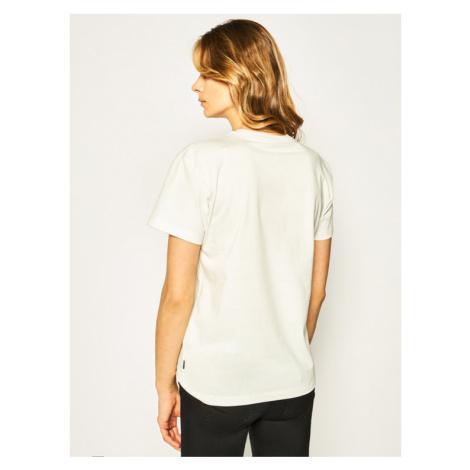Converse T-Shirt Logo Distort Tee 10019115-A01 Biały Regular Fit