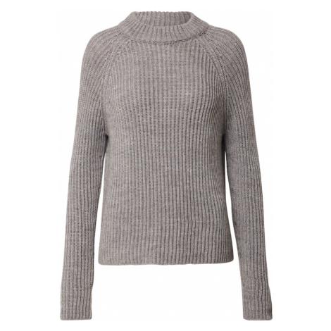 DRYKORN Sweter nakrapiany brązowy