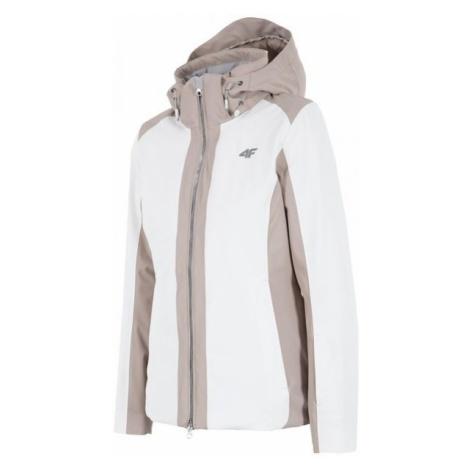 4F damska kurtka narciarska H4Z17 KUDN005 biały