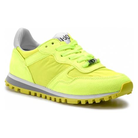 Sneakersy LIU JO - Alexa BXX049 PX003 Yellow Fluo S14F1