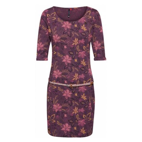 Ragwear Sukienka 'TANYA FLOWERS' czerwone wino