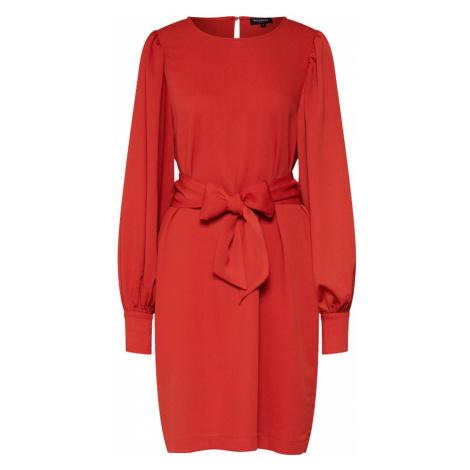 SELECTED FEMME Letnia sukienka czerwony