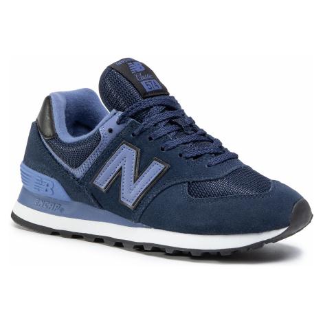 Sneakersy NEW BALANCE - WL574LBG Granatowy