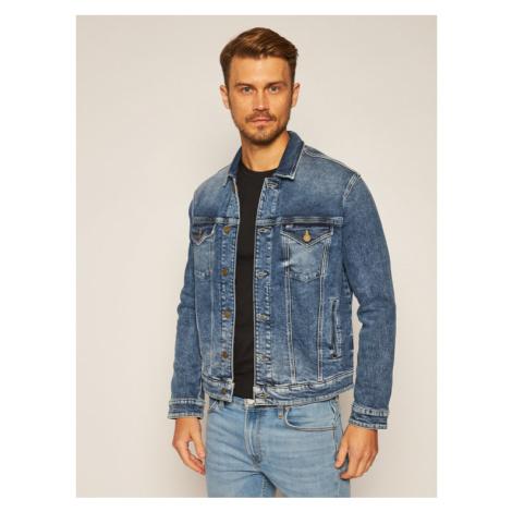 Tommy Jeans Kurtka jeansowa Trucker DM0DM08282 Granatowy Regular Fit Tommy Hilfiger