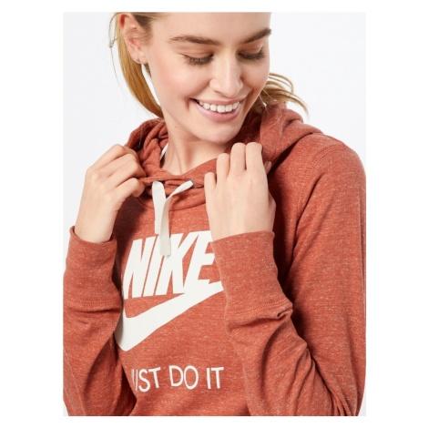 Nike Sportswear Bluzka sportowa brązowy / rdzawobrązowy