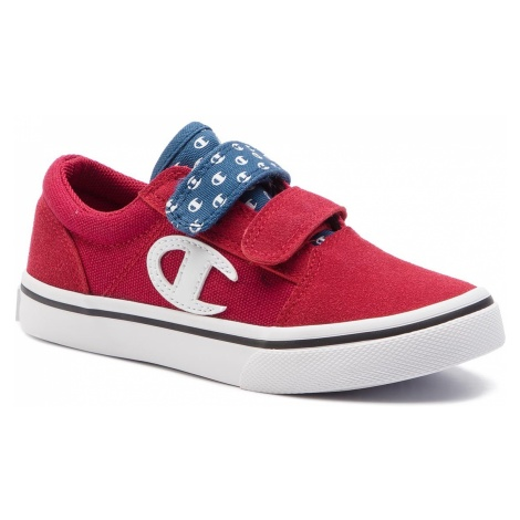 Tenisówki CHAMPION - 360 Velcro Canvas S31500-S19-RS001 Red All Over