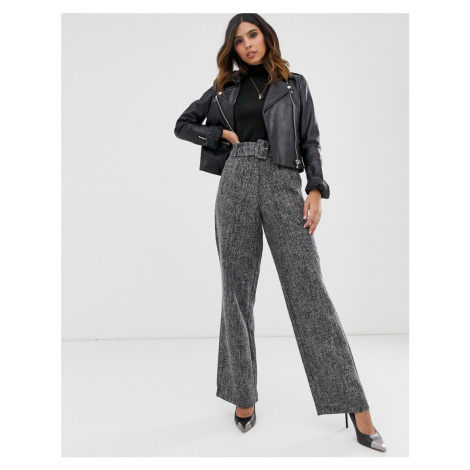Y.A.S belted wide leg trouser