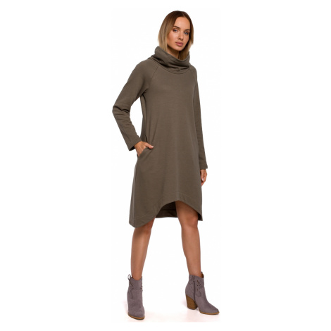 Wykonana z emocji sukienka kobiety M551 Khaki Made of Emotion