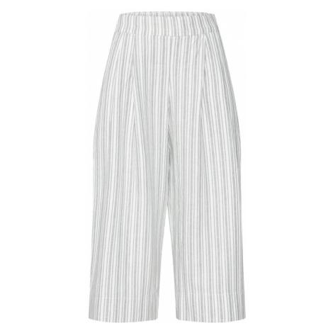 GAP Spodnie jasnoszary / biały